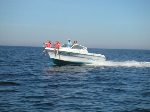 Charter Motorboat Ocqueteau Abaco Brest