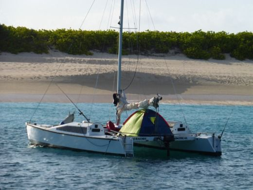 Rental Catamaran Richards Wood Merlin Marigot