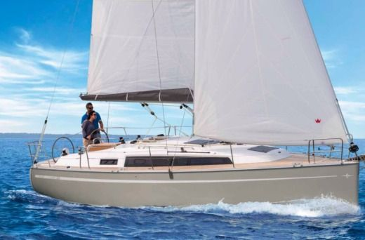 Charter Sailboat Bavaria 34 Cruiser Split