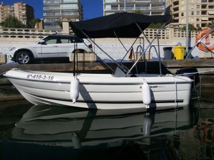 Charter Motorboat Quicksilver 410 Fish Altea