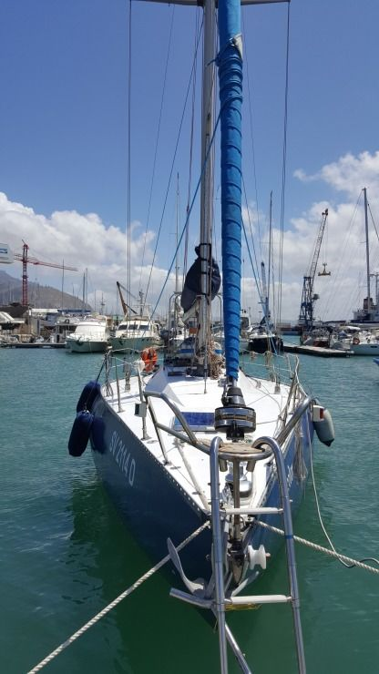 Charter Sailboat Teknocantieri Perversion Trapani
