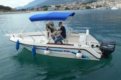 Rental Motorboat OKIBOATS Barracuda 545 Makarska