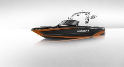 Charter Motorboat Mastercraft Xt25 Lutry