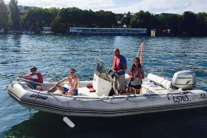 Location Semi-rigide ZODIAC PRO OPEN 650 Annecy