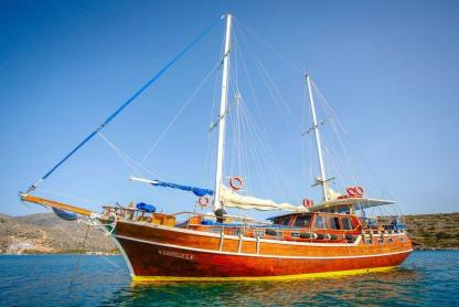 Rental Sailboat Gulet Greek Schooner Agios Nikolaos