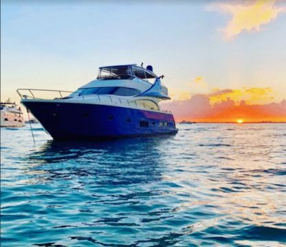 Charter Motor yacht Marquis 65 Sunny Isles Beach