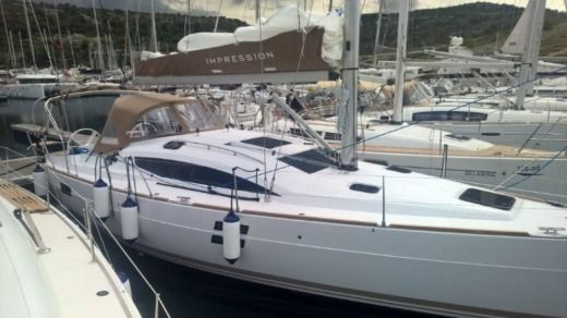 Sailboat Elan 40