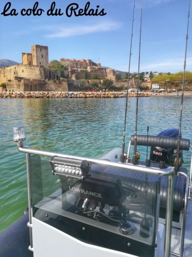 Semi-rigide Searib's Open Fishing 580 de particuliers et professionnels