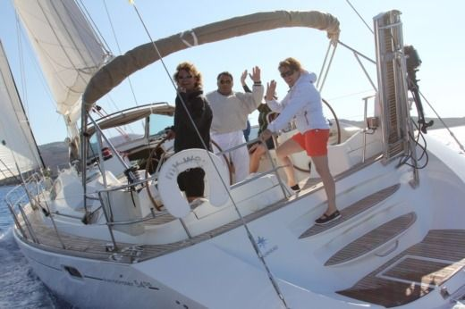 Jeanneau Sun Odyssey 54DS in Preveza peer-to-peer