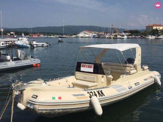 Charter rIB in Krk peer-to-peer