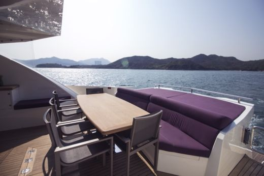 Charter motorboat in Hong Kong