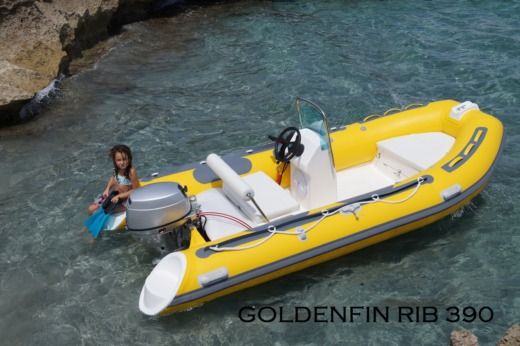 RIB GOLDENFIN-GLASSBOAT GLASSBOAT peer-to-peer