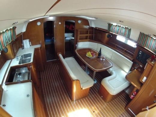 Sailboat Beneteau Oceanis 461 peer-to-peer