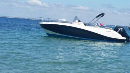Rental Motorboat Quicksilver Activ Open 6.75 Lorient