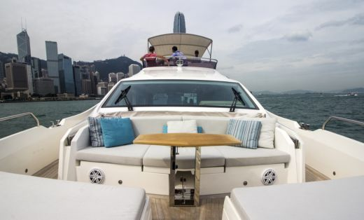 Numarine 62 Flybridge in Hong Kong for hire