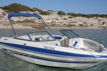 Rental Motorboat GLASTRON 225 Ibiza