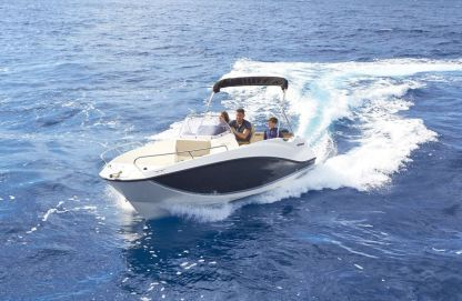 Rental Motorboat Quicksilver Activ 555 Open Split