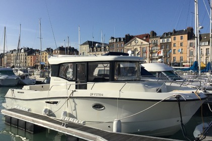 Miete Motorboot QUICKSILVER Pilothouse 905 Dieppe