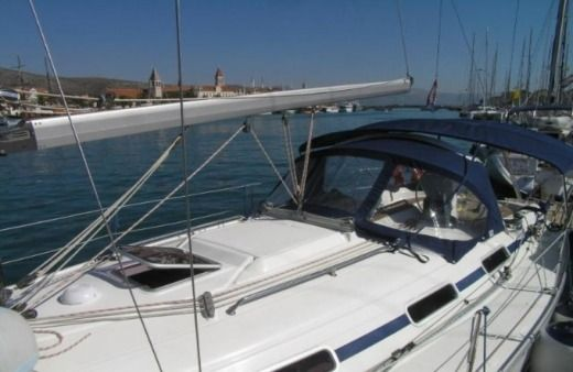 Charter sailboat in Trogir