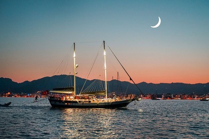 Rental Sailboat M/S Grand Sailor Deluxe Gulet Marmaris