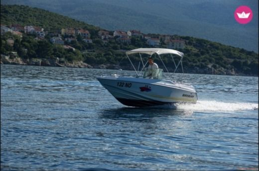 Motorboat Quicksilver 500 Open for rental