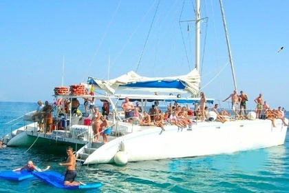 Rental Catamaran Supercatamaran 125 Blanes