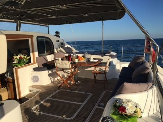 Catamaran Alliaura Marine Privilege 585 Easy Cruise entre particuliers
