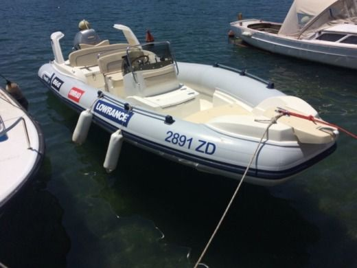 RIB Marlin 20' Fb for hire