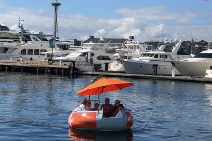 Hire Motorboat Donut Boat Custom Seattle