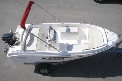 Rental Motorboat Karel 460 Vourvourou