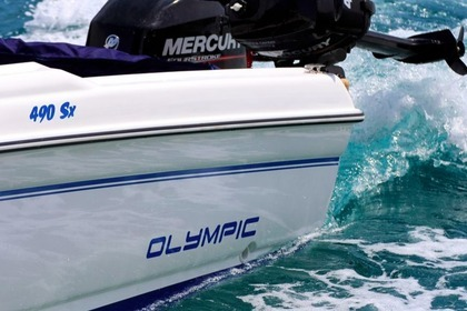 Hire Motorboat Olympic 490sx Ithaca