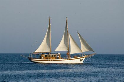 Hire Sailing yacht Traditional Wood Motor Schooner with Sails Protaras