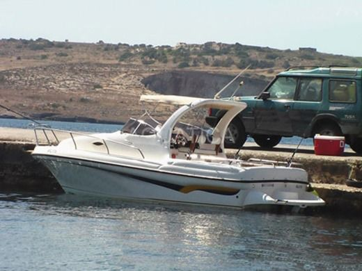 Motorboat Fishing Boat 26Ft for hire
