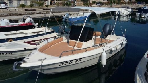 Motorboat Coverline 5.50 Coverline 5.50 for hire