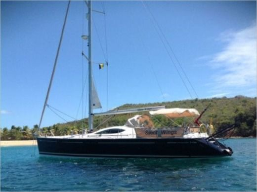 Charter sailboat in Saint Vincent and the Grenadines
