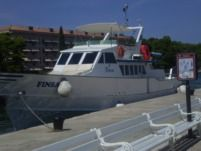 Rental motorboat in Umag