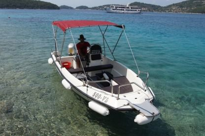 Rental Motorboat Elan Fisherman 495 Vela Luka