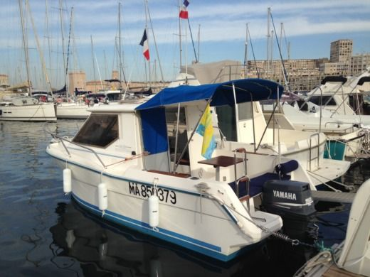Miete motorboot in Marseille