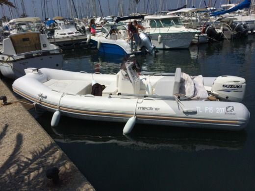 RIB Zodiac MEDLINE 500 for hire