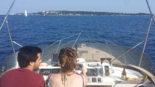 Fairline 360 Fly in Cannes for hire