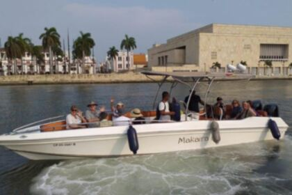 Charter Motorboat Custom 28 Cartagena