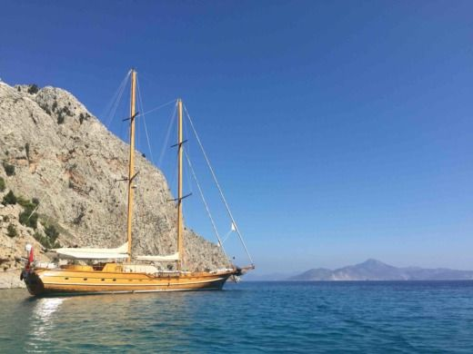 Charter sailboat in Bodrum