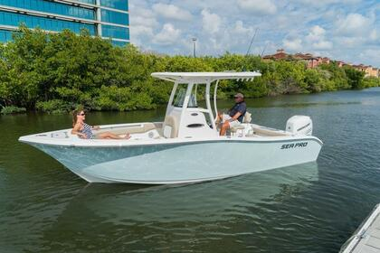 Rental Motorboat Stingray 243 Sport deck Charleston