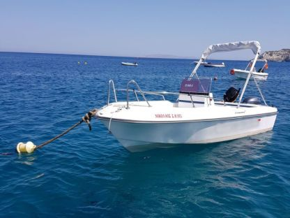 Charter Motorboat Compass 160Sh Heraklion