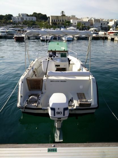 Rental Motorboat Elan Fisherman 570 Leuca