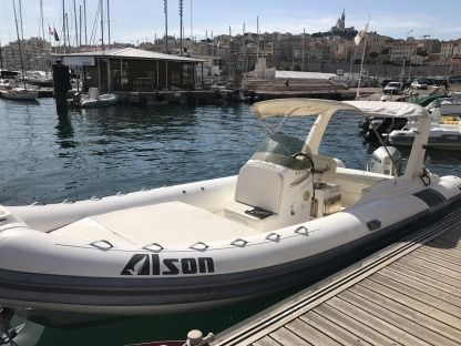 Location Semi-rigide Alson 750 Marseille