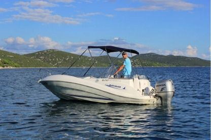 Rental Motorboat Quicksilver 505 Tisno
