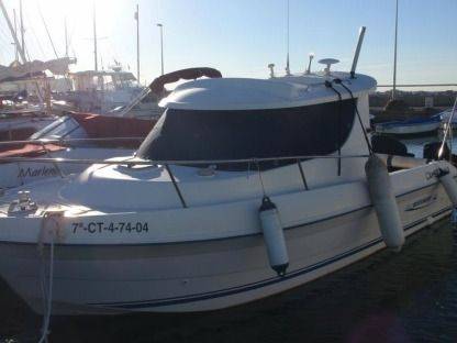 Charter Motorboat Quicksilver 650 Week-End Malestroit