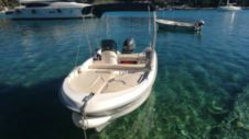 Mazury 40 Hp Free Petrol in Hvar for hire