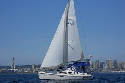 Location Voilier HUNTER MARINE 320 Seattle